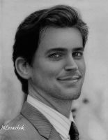 Matthew Bomer by NLevaschuk