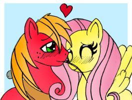 MLP: Let Fluttershy give Big Mac's heart a break by Garfield141992