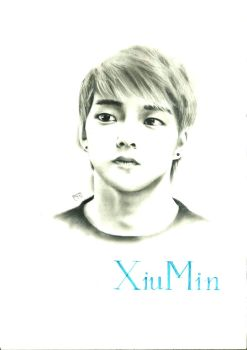 Xiu Min (EXO) by CompleteBlue