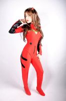 Asuka langley soryu plugsuit cosplay by chiquitita-cosplay