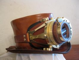 Steampunk Goggles, Navigator by Glasscast