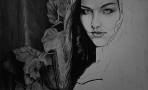 Amy Lee wip IV by S3V4STR4