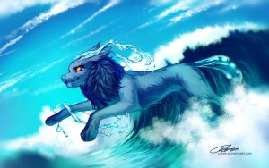 From the waves by Lukiri