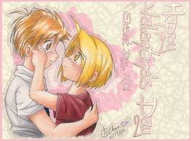 FMA- Happy Valentines Day by Hanaurimusume