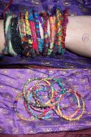 hand made bangles by tea-peace