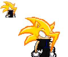 Leo New Style Sonic Battle Art by leothehedgehog071000