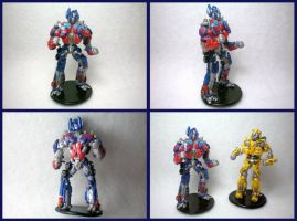 Transformers Figures by stevoluvmunchkin