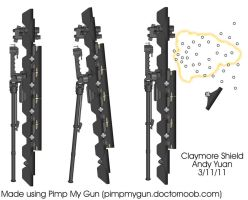 Claymore Shield by c-force