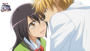 Usui Takumi and Misaki by MoonlighDance