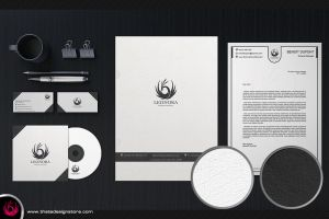 White and Classy Corporate Identity by Thats-Design