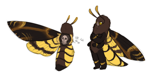 Moth Design Trade by red-anteater