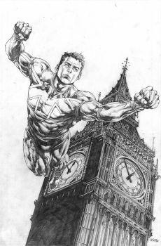 Captain Britain and MI:13 13 by MicoSuayan