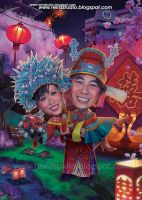 Romantic Chinesse Traditional by Reinsstudio