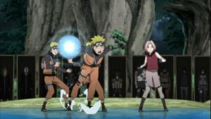 Naruto launches his Giant Rasengan by TheBoar