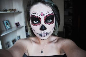 Mexican Skull by chunkymonk3y