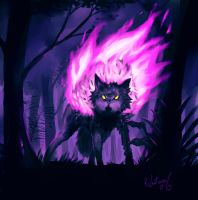 Phantom Wolf by rafaelventura