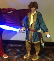 Bilbo Baggins Anime Central 2014 by grimmons88