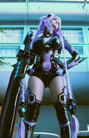 Purple Heart Cosplay by Mirakan