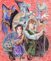 Quest for Camelot by aragornelizabeth