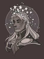 Thor Wore A Bright Crown of Stars by ramida-r