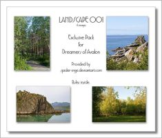 Exclusive Pack - Landscape 001 by spider-inge