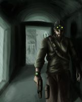 Sam Fisher by jamesnidea