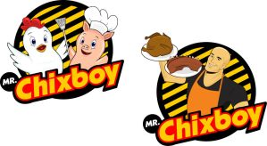 Chixboy Logo Study by PiccleFiccle
