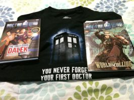 Latest Additions to my Doctor Who collection by JadeTorchwood