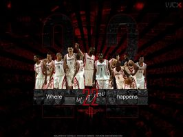 Houston Rockets - 22 in a row by Cotovelo