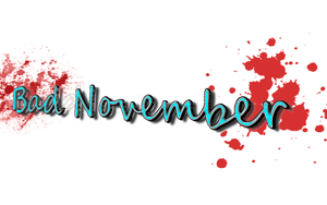 Bad November Designer text 3 by athyn100