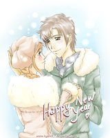 Happy 2013 - Sooner or Later by kyara17