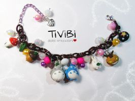 My neighbor Totoro bracelet by tivibi