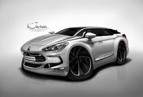 Citroen DS5 by creaturedesign