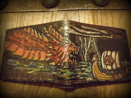 Dragon Wallet Flat by The-Beast-Man