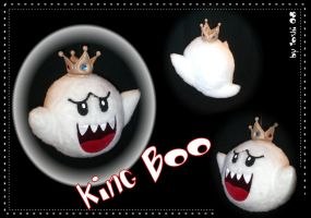 King Boo plushie by DemonViridian