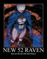 Introducing Raven in DC's New 52 by morgrag