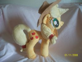 Applejack Plush, new pattern FOR SALE! by SiamchuchusPlushies