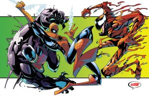 SPIDEY VENOM CARNAGE STUFF by BTURNERart