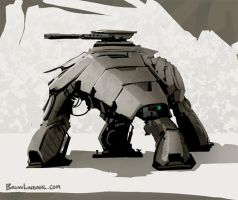 Military Mech by BrianLindahl