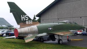 North American F-100F by shelbs2