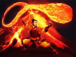 Fire Nation Avatar by zachjacobs