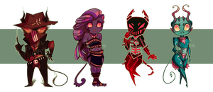 Demon Adopts [Paypal/Points] - [CLOSED] by PW-adoptables
