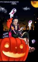 Zoro Roronoa~ Halloween! by DarkMaza