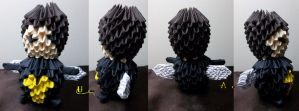 3D Origami - Chibi Wasp by Jobe3DO