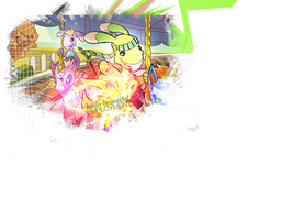 First Neopets layout by bubblesfoo111
