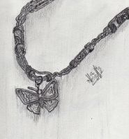 My Butterfly Necklace by ajbluesox
