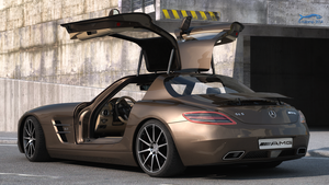Mercedes SLS AMG 3 by RJamp