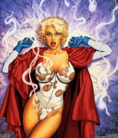 Power Girl Surprised PGversion by powerbook125