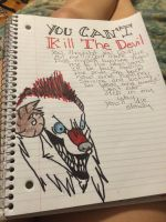 You can't kill the devil  by BrownSwissAndLove