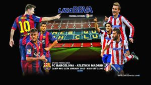 FC BARCELONA - ATLETICO MADRID by jafarjeef